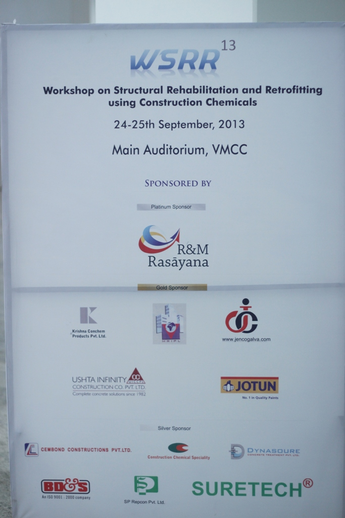 Workshop on Repairs and Rehabilitation 2013